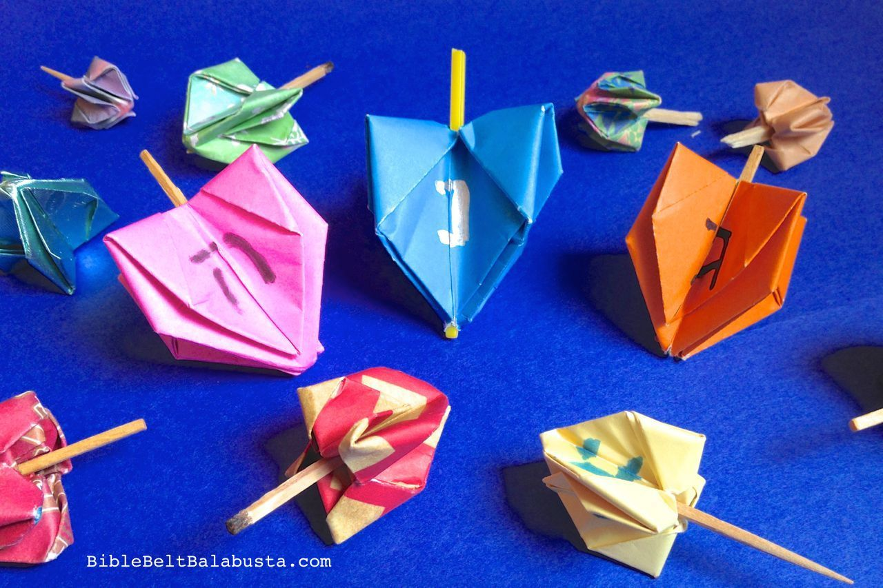 Origami Toys That Tumble Fly And Spin