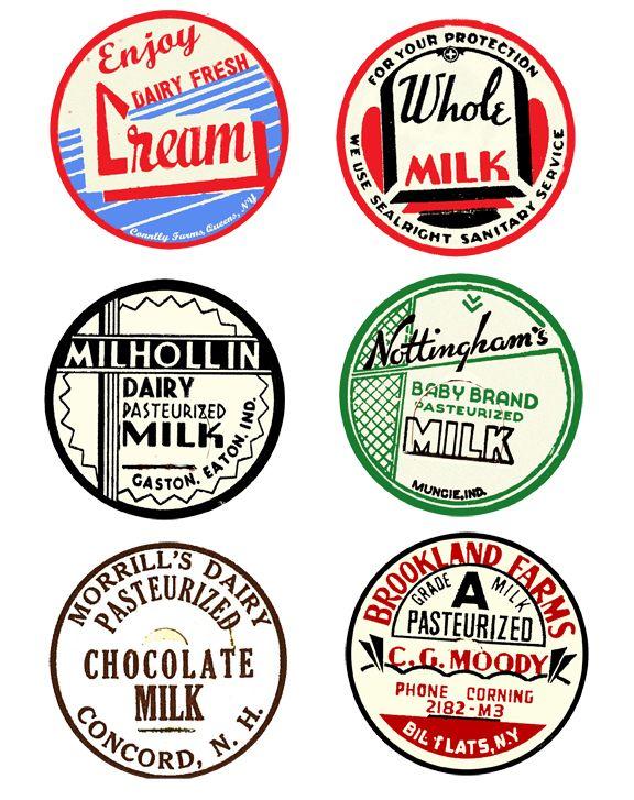 Uwug Project 5 Vintage Milk Bottle Label Wall Art With Free Printables Vintage Milk Bottles Milk Bottle Vintage Labels