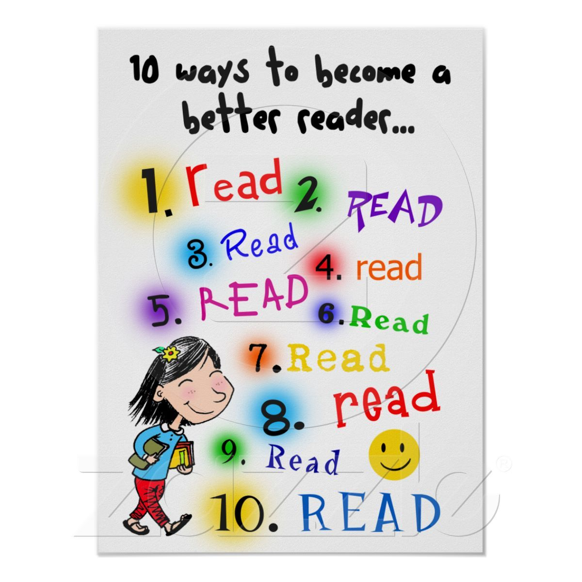 Better Reader Posters from Zazzle.com
