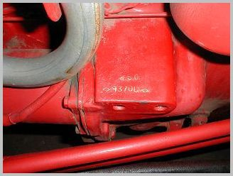 Hundred series serial number location | Tracktor | Ford