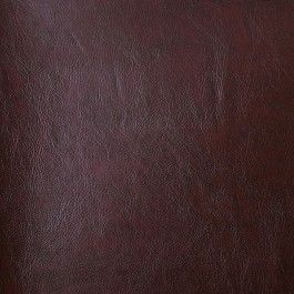 Cordovan faux leather from Italy. Medium-weight and very stiff, this vinyl is best for  accessories, like handbags, totes and tablet covers, or for crafts.