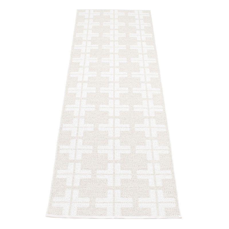 Klas Rug White 70x280, Pappelina