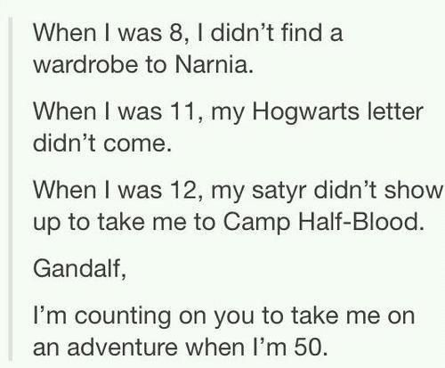 Come on Gandalf!!!