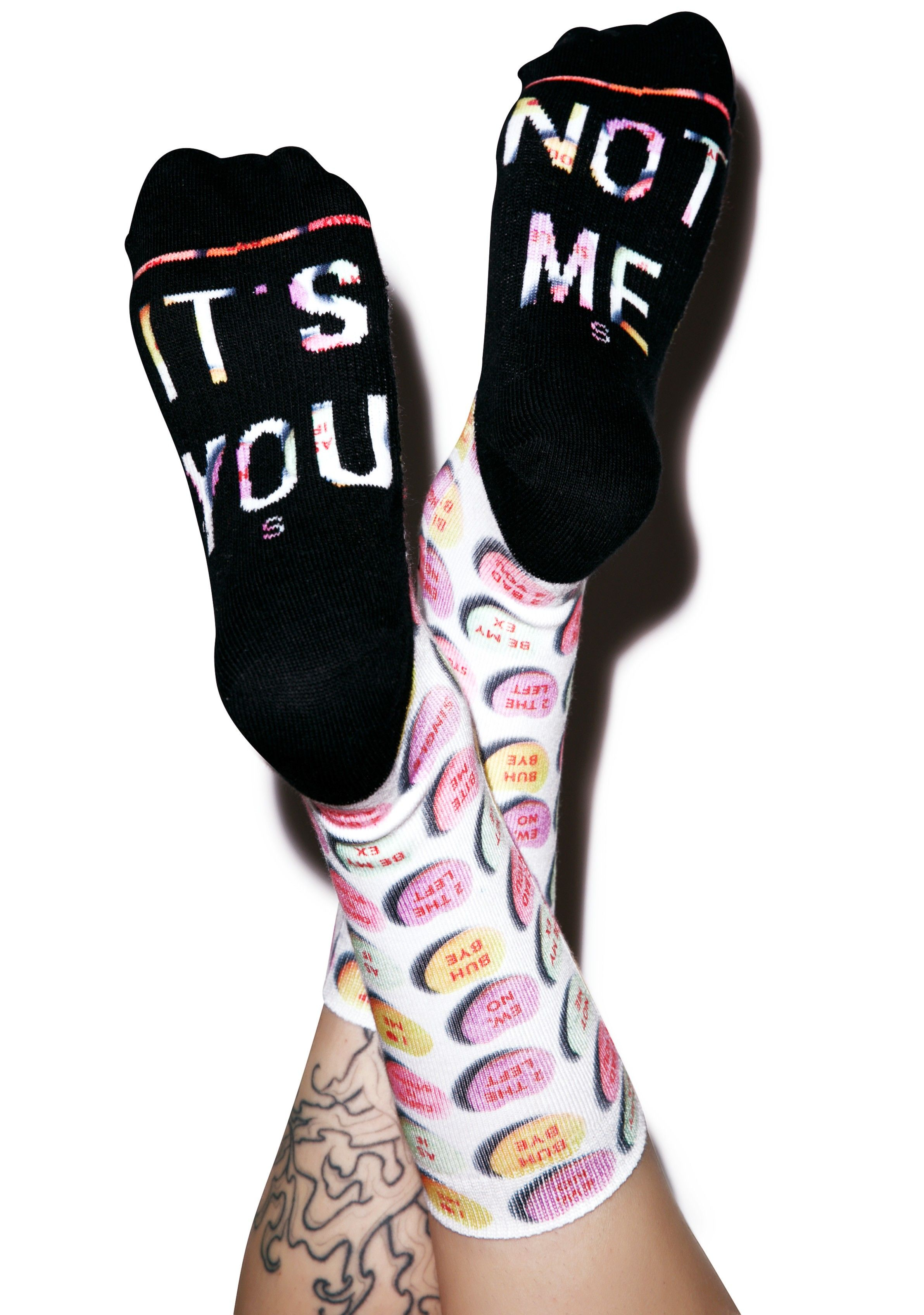 Stance It s You Candy Heart Socks Calcetines De Postura eea65fa2050