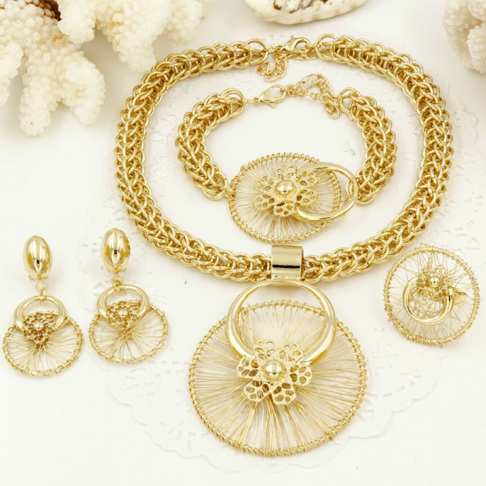 Liffly new italy fashion costume jewellery african women big