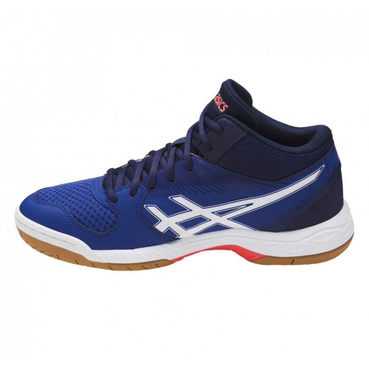Asics Gel Task M B703y 4901 Blue Multicolored Asics Gel Asics Volleyball Shoes