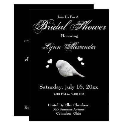 love birds bridal shower invitation weddinginvitations wedding invitations party card cards invitation typography