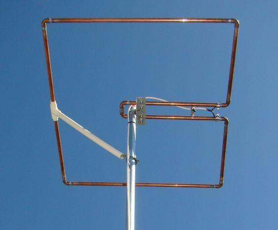 Squalo Antenna For 6m By Pa3hcm Ham Radio Antenna Ham Radio Hf