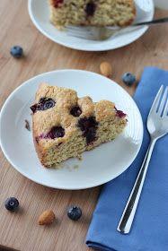 Fake Food Free: Blueberry Almond Cake