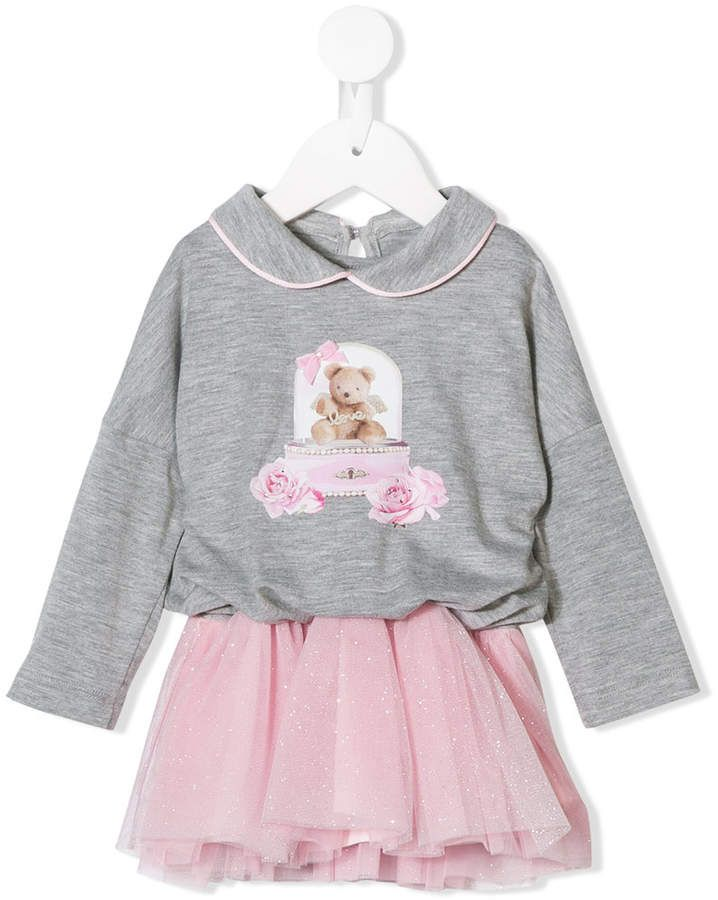 b54f1fbb8 Lapin House teddy bear tulle skirt dress   Products