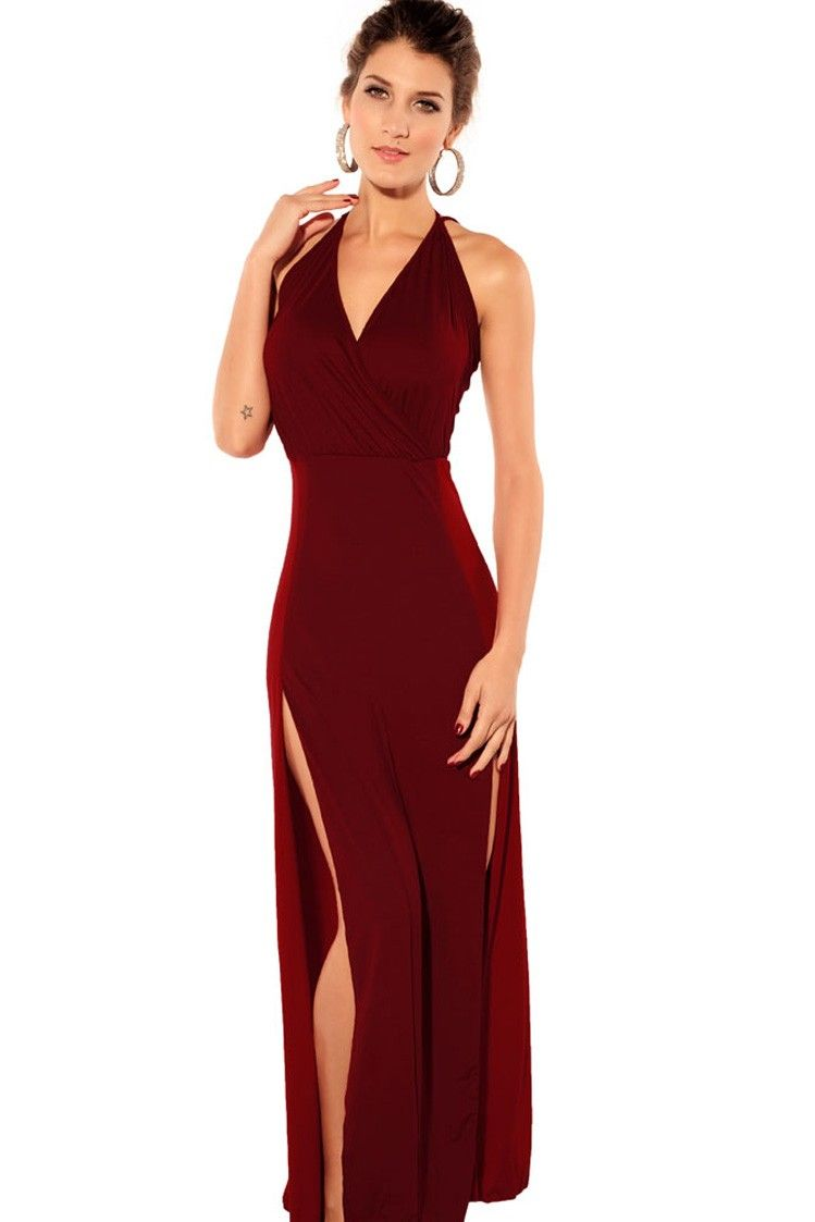 Images of Dark Red Dress - Reikian