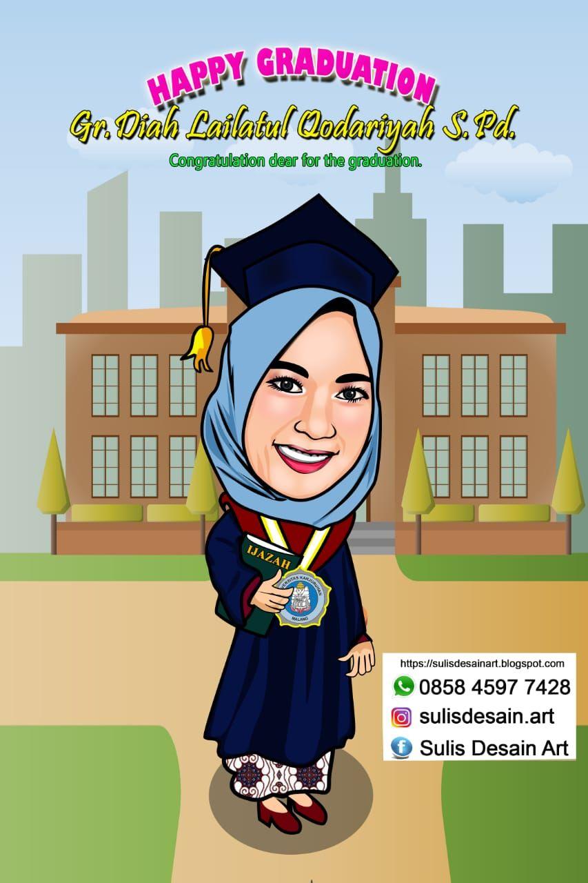 Kenang Kenangan Untuk Guru Tk : kenang, kenangan, untuk, Wisuda, 0858-4597-7428, Karikatur,, Desain, Logo,, Grafis