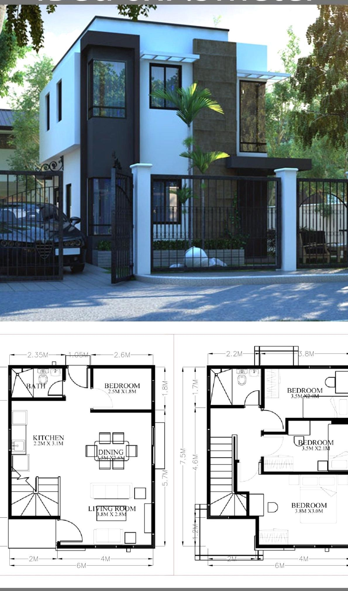 Pin On Quality Pins House Designs Exterior Architectural House Plans House Projects Architecture