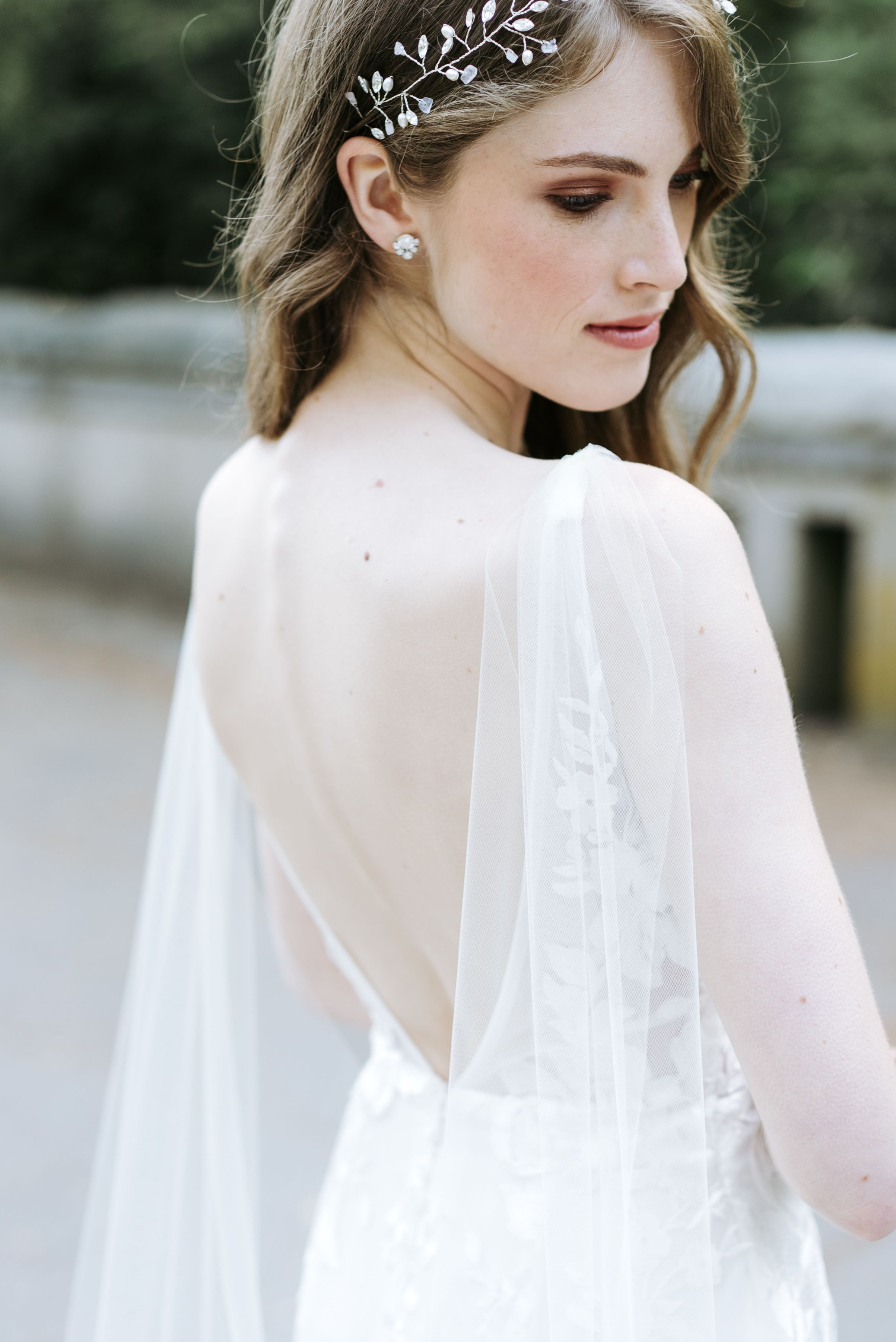 49+ Wedding dress with cape veil ideas