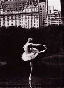 My favorite ballet picture taken in Central Park, NYC ---Darci Kistler from NYCB