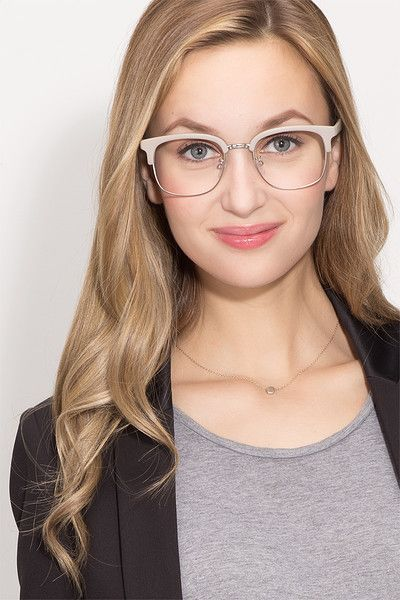 a8ccb2ab631 Yokote Matte Gray Metal Eyeglasses from EyeBuyDirect. Come and discover  these quality glasses at an affordable price. Find your style now with this  frame.