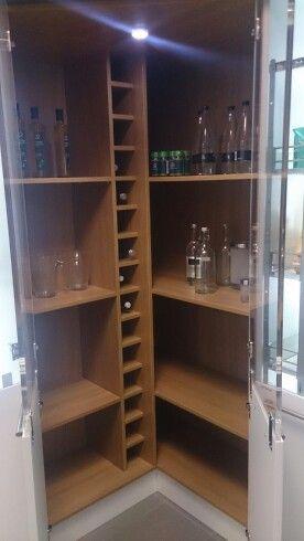 Kitchen Corner Cupboard Saw In Wren Livingroomideas