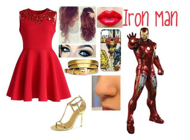 """""""Iron Man - PARTY"""" by blackest-raven ❤ liked on Polyvore featuring moda, Chicwish, Chinese Laundry, women's clothing, women's fashion, women, female, woman, misses y juniors"""