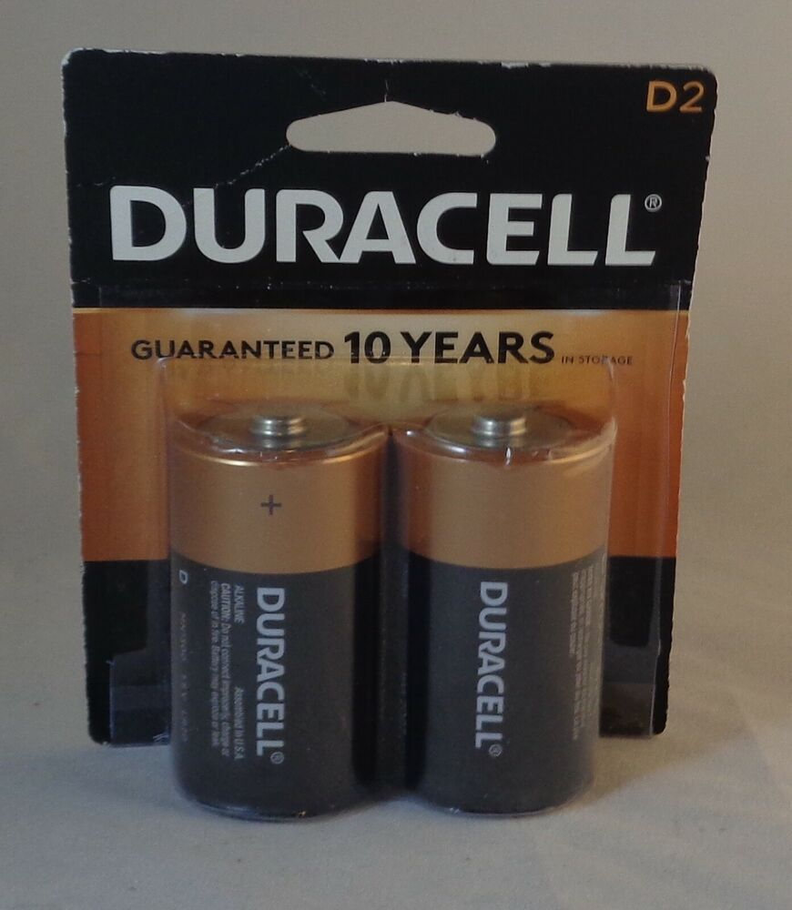 Duracell Size D2 Batteries 2 Batteries Duracell Duracell Duracell Batteries Battery Holder