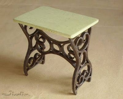 Tavolo da giardino.