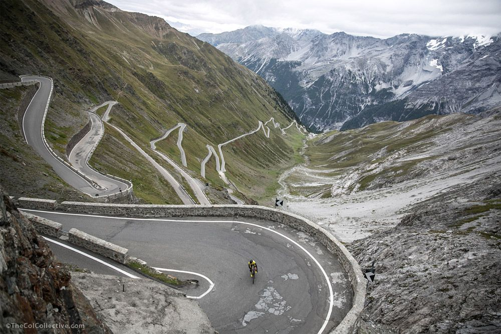 Video Climb The Stelvio With The Col Collective Cycling Inspiration Scenery Competitive Cycling