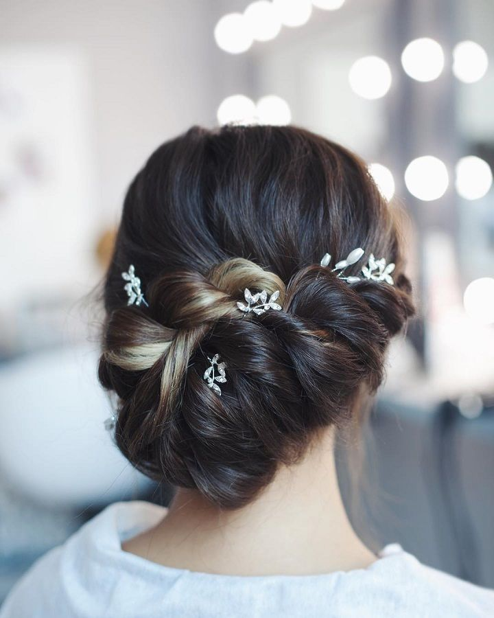 Wedding Hairstyle Knot Me Pretty: Beautiful Braid Updo Wedding Hairstyle Inspiration