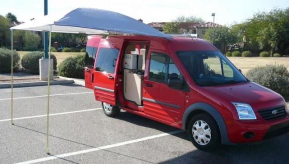 Euro Style Ford Transit Connect Wagon Lwb Converted To Minimalist