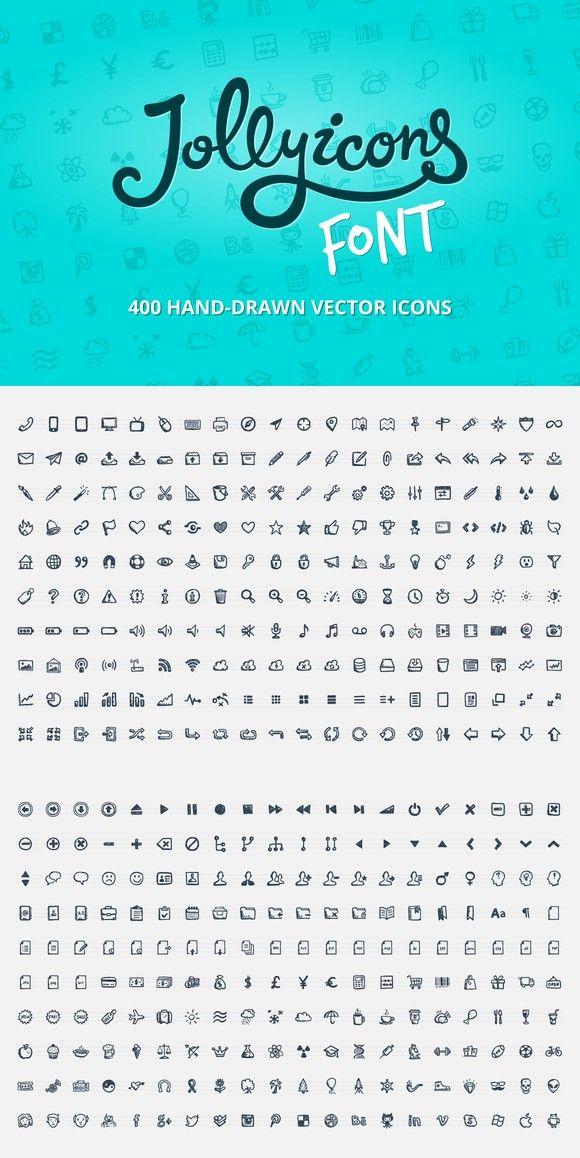 Jolly Icons Font Symbol Fonts 2900 Symbol Fonts Pinterest