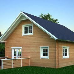 Ria – Blockhaus / Holzrahmenbau Holzhaus 80 qm 81000 Euro ...