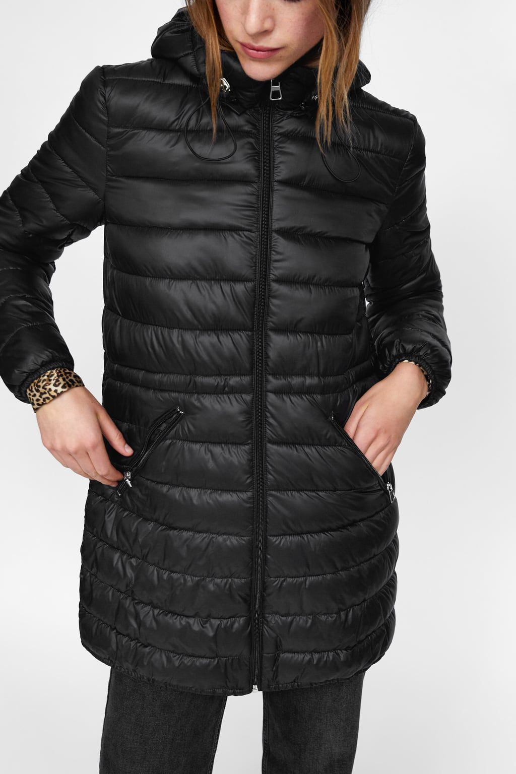 Image 2 Of Lightweight Travel Puffer Coat From Zara Puffer Coat Puffer Coat [ 1536 x 1024 Pixel ]