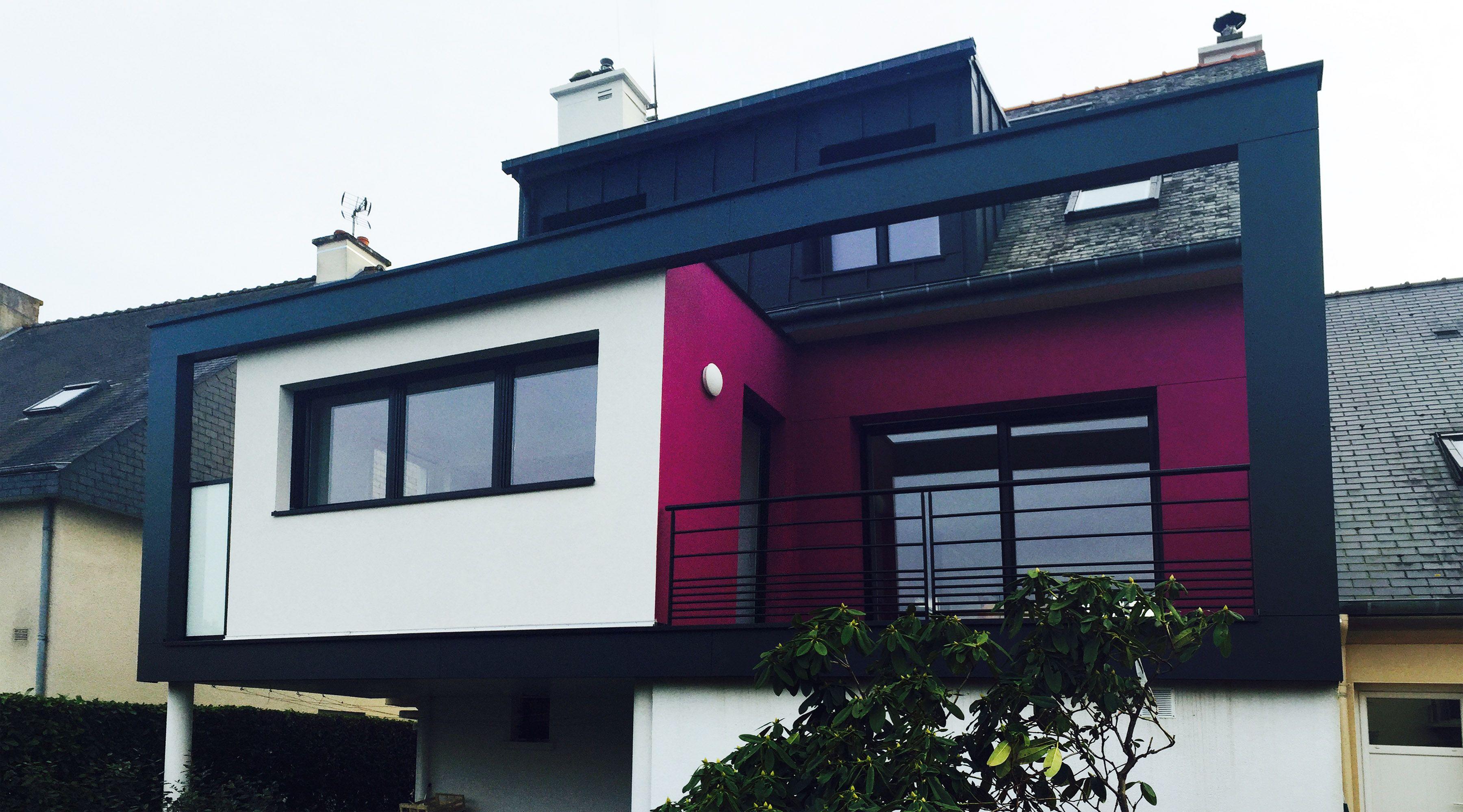 1- Extension maison rennes architecte rennes architecte 35 agrandissement maison rennes ...