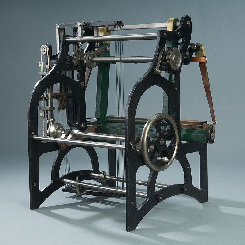 Edmund Cartwright Water Powered Loom 27202 | WALLPLUS