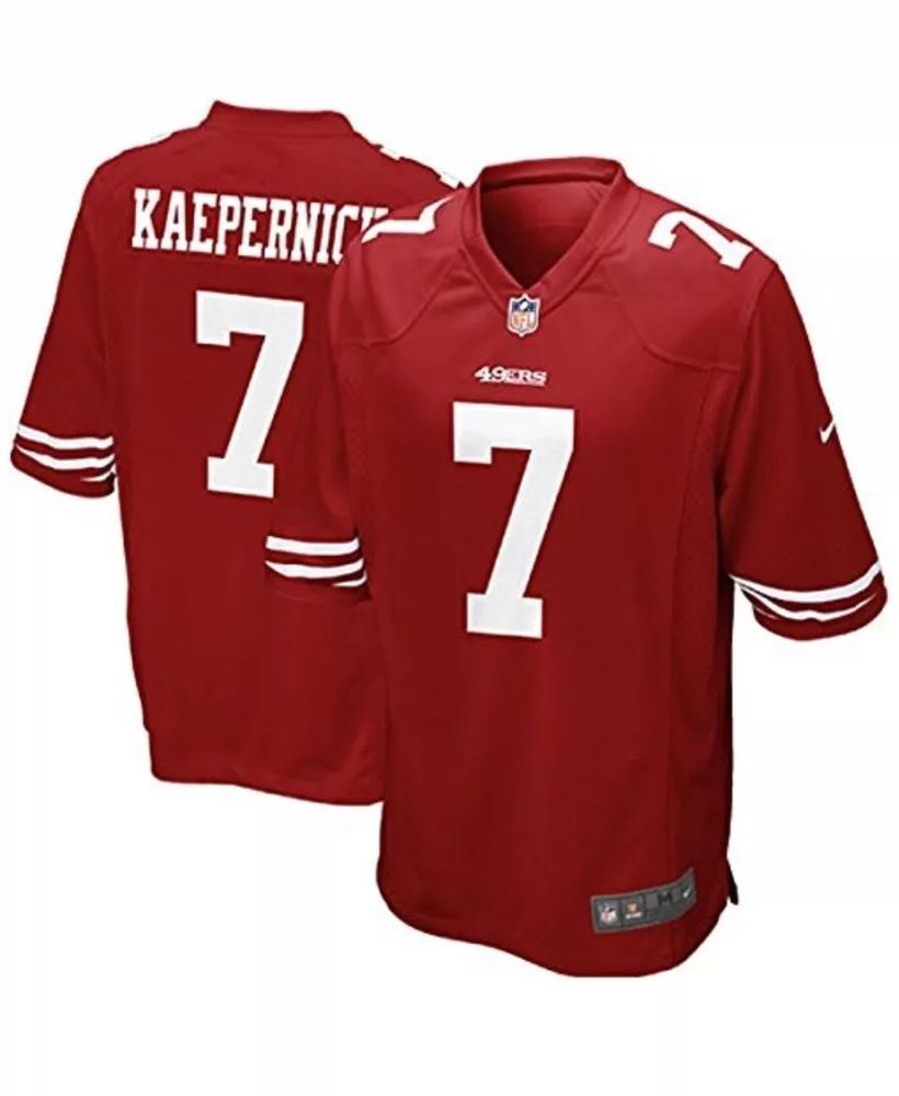 separation shoes 99dfb 0fcbd Large New San Francisco 49ers Colin Kaepernick NFL Jersey ...