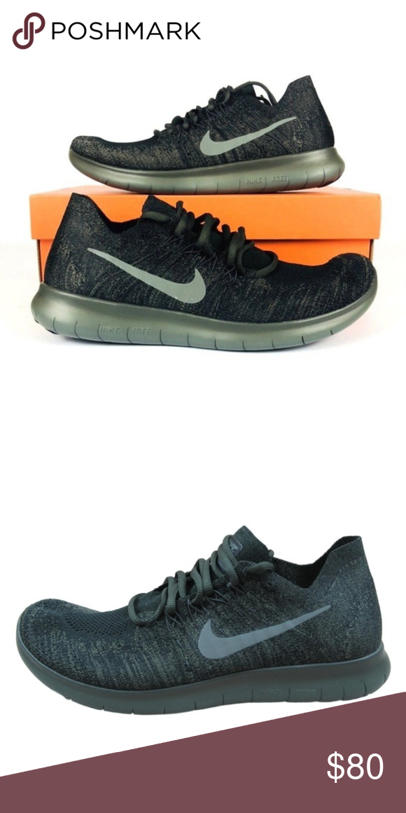Nike Free RN Flyknit Running Shoes Size