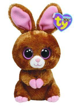 fe066095234 Hopsin Brown Bunny Beanie Boo 6 inch Plush