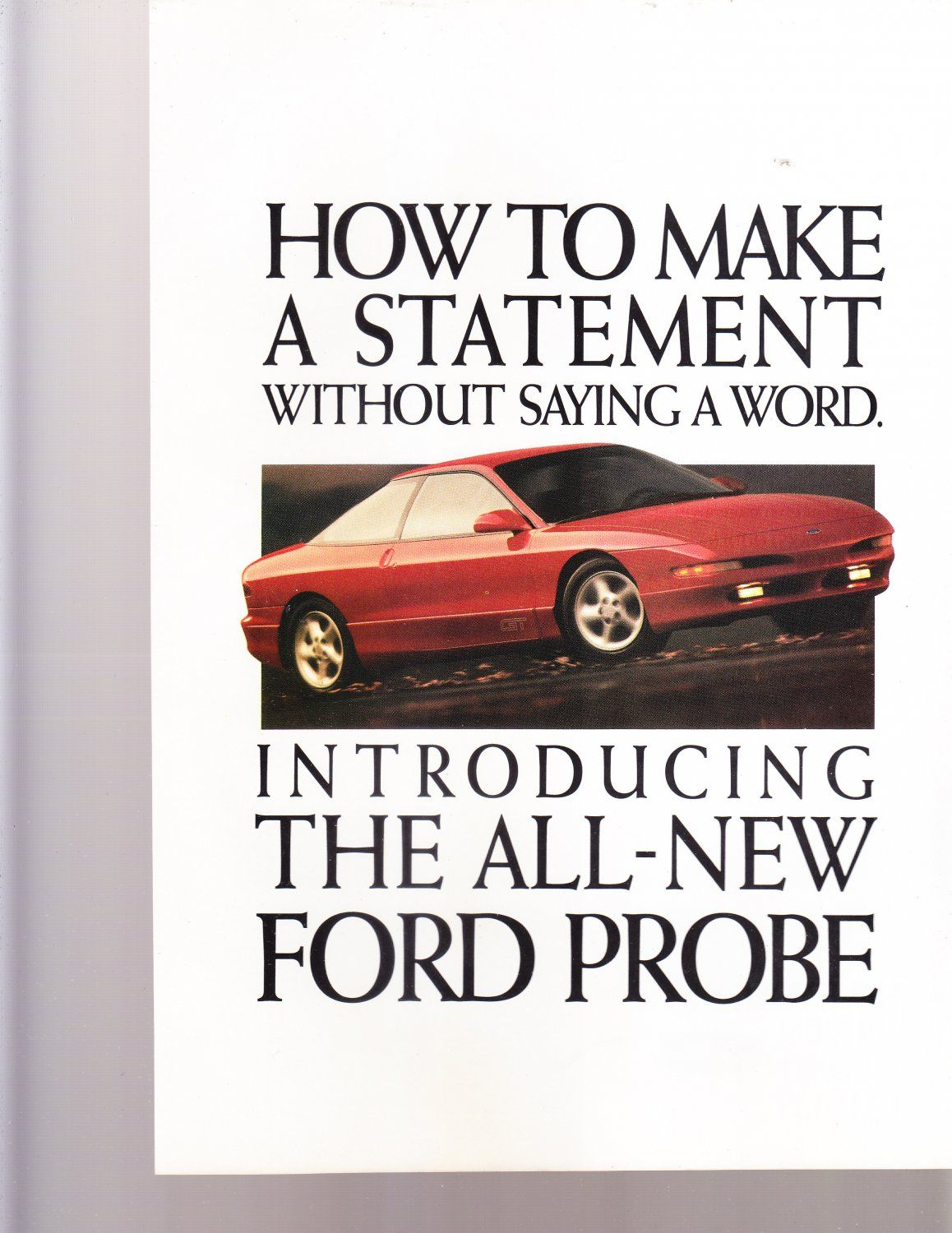 ford+probe+1992+magazine+advertisement+how+to+make+a+statement ...