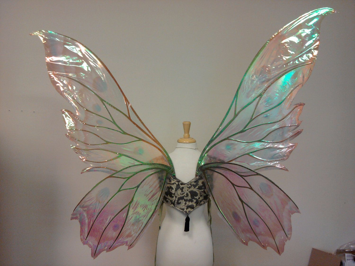 Large Fairies Giant Clarion Painted Fire Fairy Wings Costume Ideas