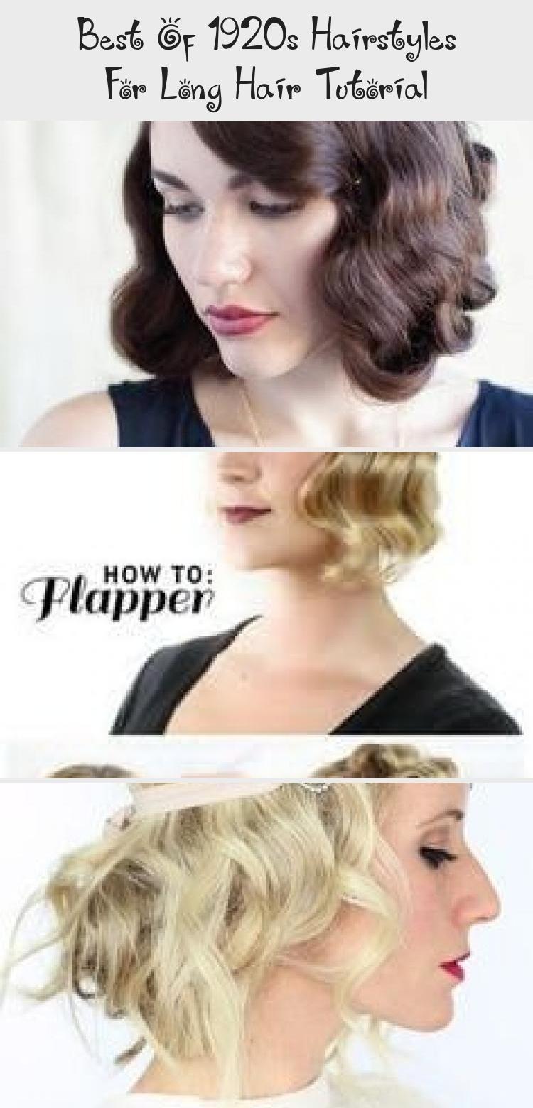 Best Of 1920s Hairstyles For Long Hair Tutorial 1920shairstyles Best Of 1920s Hairstyles For Long Hair Tutorial V 2020 Sac Modeli Egitimleri Uzun Sac 1920 Ler Sac