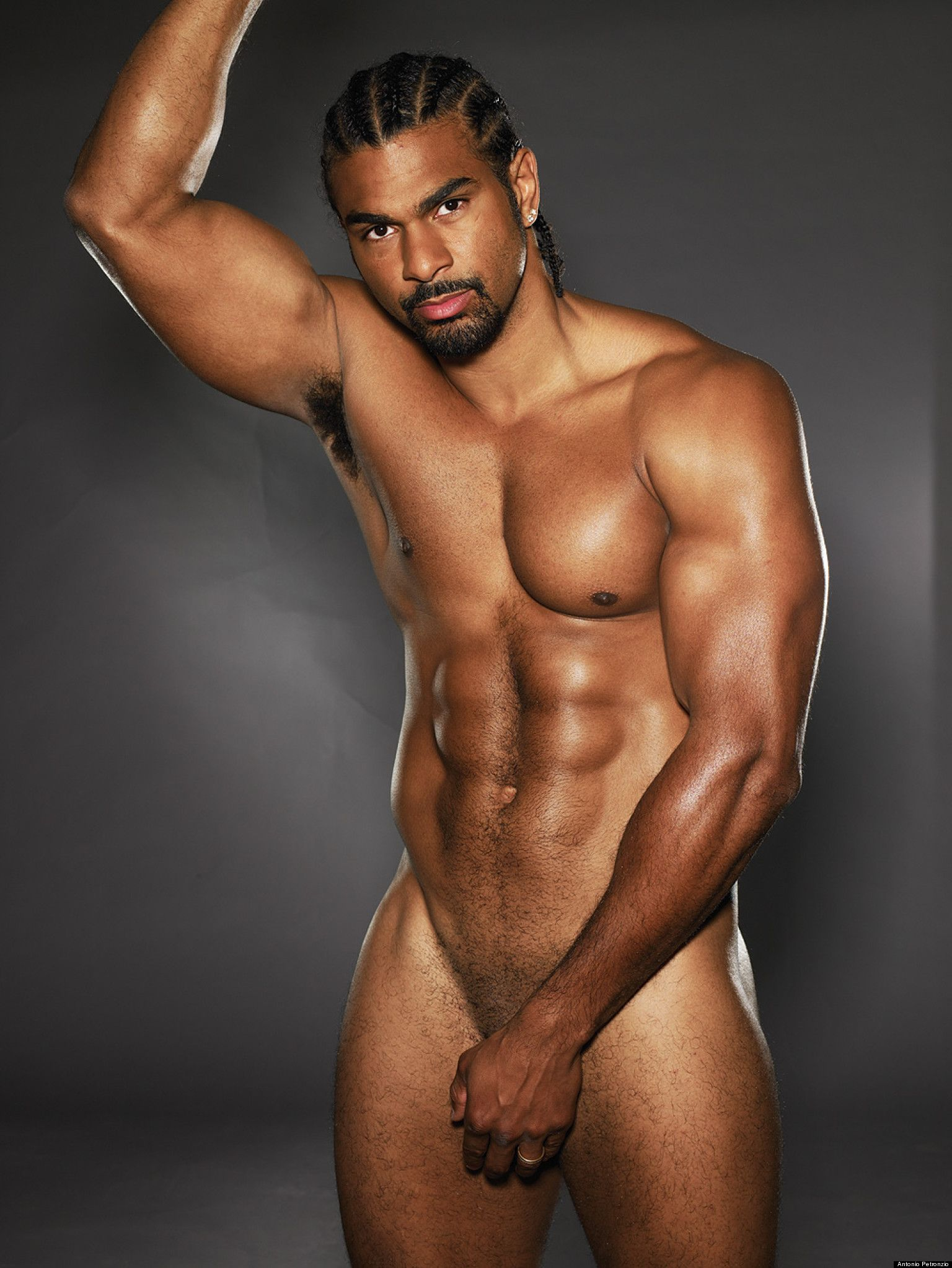 David Haye Naked Im A Celebrity Hunk Isnt Shy About Getting Nude
