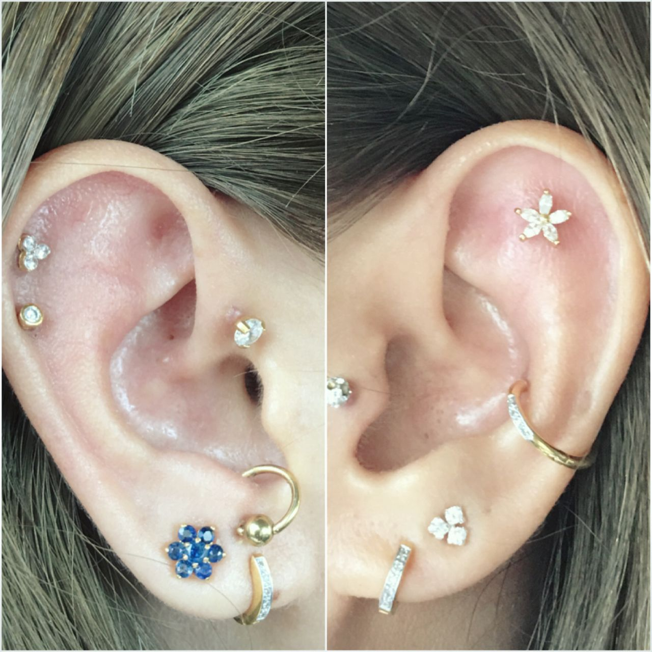 Healed nose piercing hole  Pin by Esmera on Earrings  Pinterest