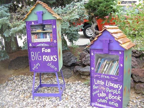 How To Turn A Newspaper Vending Box Into A Library Plans