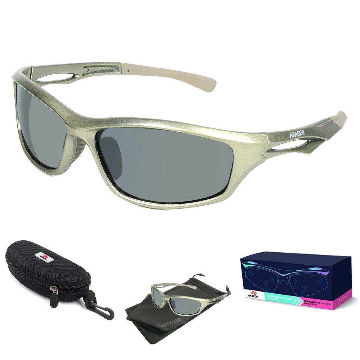 AFARER Polarized Sport Sunglasses for men women Outdoor