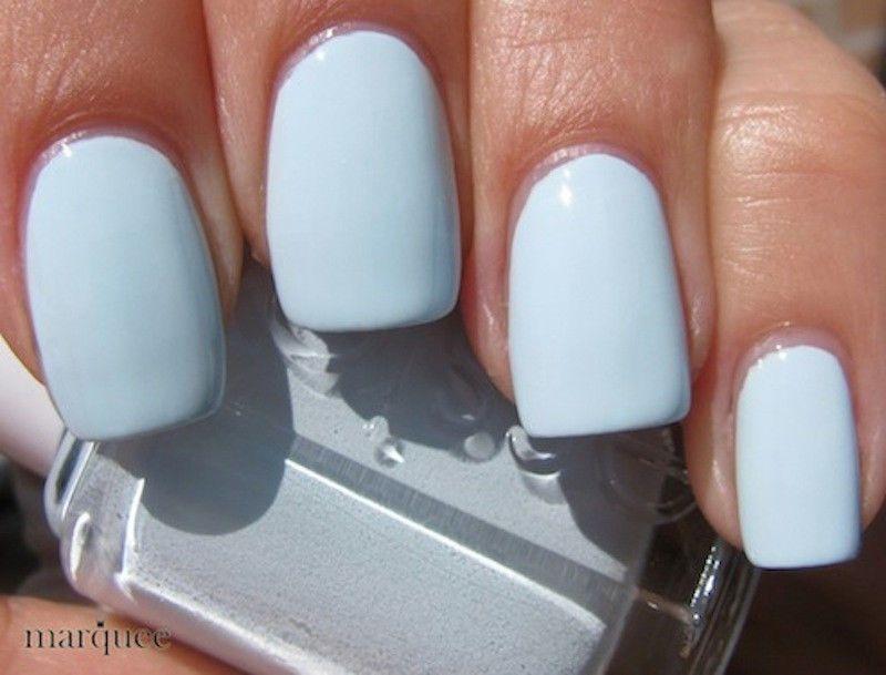 Essie Nail Polish (E746-Borrowed & Blue) BABY BLUE COLOR NEW ...