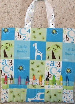 46b08c66dbff Here is a nice bag for kids when you travel hold books and colors ...