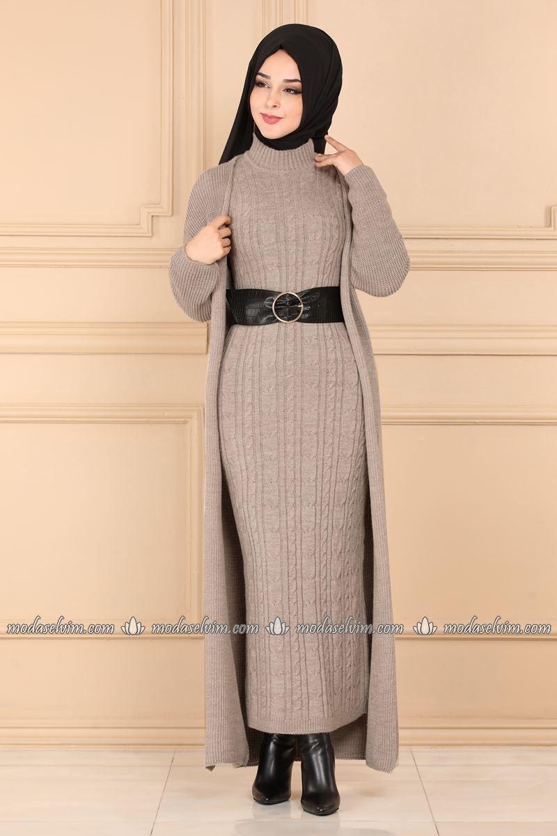 Tesettur Kombin Elbise Kombin Tesettur Kombin Istanbul Tesettur Triko Mod Tesettur Triko Modelleri 2020 2020 Elbise Abaya Tarzi Moda Stilleri