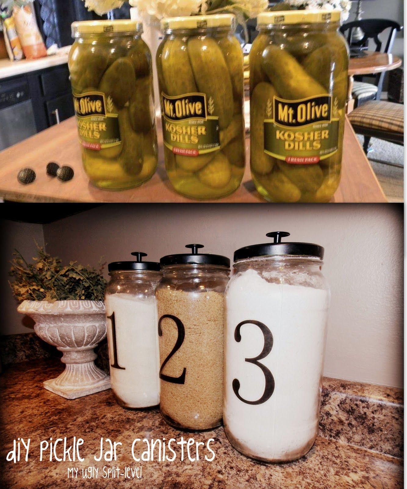10 great ideas for upgrade the kitchen 2 pickle jars jar 10 great ideas for upgrade the kitchen 2