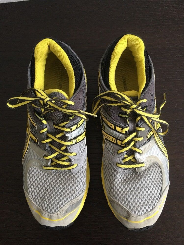 check out a56f0 cb9c1 ASICS Womans GEL-DS Trainer 17 Running Shoes Sz 10/ Yellow ...