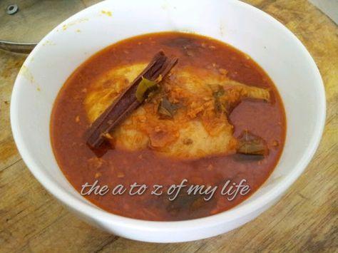 Resepi Berpantang : Kari Ikan Tenggiri Tanpa Santan Berhalba | Easy meals, Food, Recipes