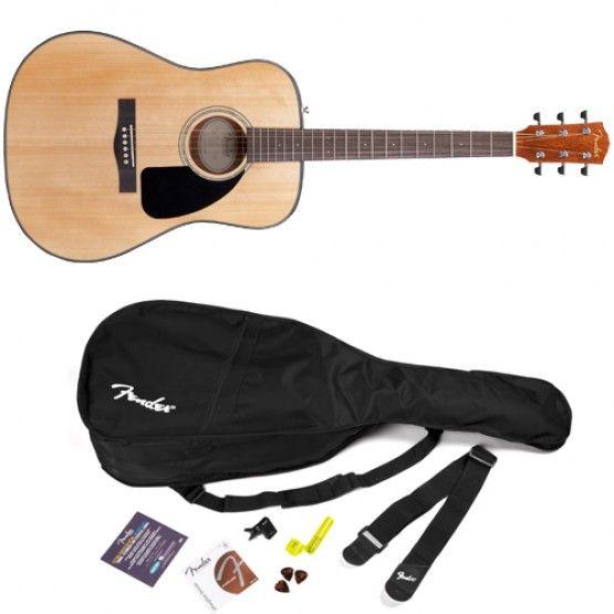 Swee Lee Singapore Fender Dg8s V2 Acoustic Guitar Value Pack Natural 279 Guitar Acoustic Guitar Music Store
