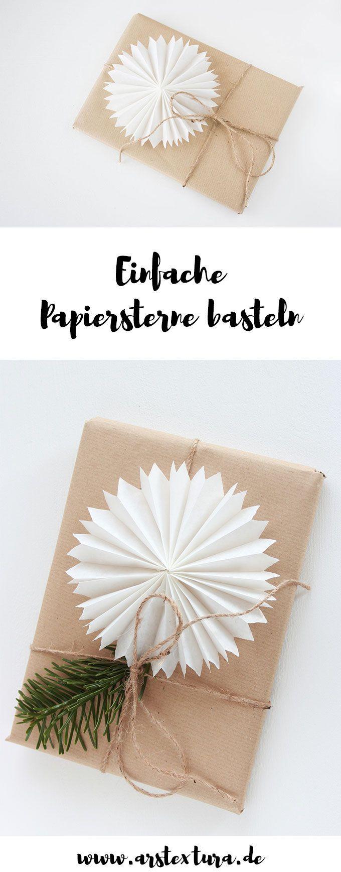 10 papiersterne die perfekte low budget dekoration aus papier basteln weihnachten. Black Bedroom Furniture Sets. Home Design Ideas